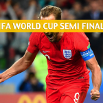 Croatia and England Predictions, Picks, Odds, and Betting Preview - 2018 FIFA World Cup Semifinals - July 11