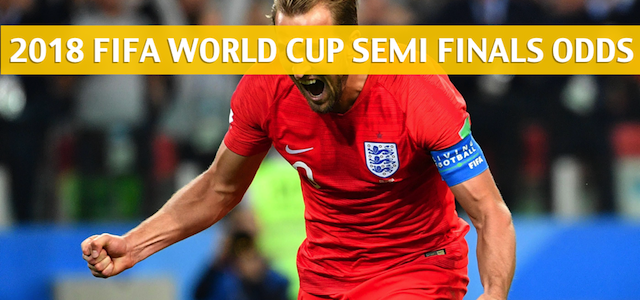 Croatia and England Predictions, Picks, Odds, and Betting Preview – 2018 FIFA World Cup Semifinals – July 11