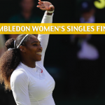 Angelique Kerber vs Serena Williams Predictions, Pick, Odds, and Betting Preview - Wimbledon Women's Singles Final July 14, 2018