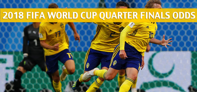 Sweden vs England Predictions, Picks, Odds, and Betting Preview – FIFA World Cup Quarter Finals – July 7 2018