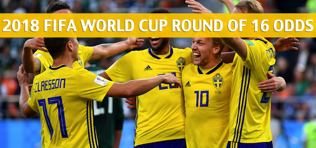 Sweden vs Switzerland Predictions, Picks, Odds, and Betting Preview – 2018 FIFA World Cup Round of 16 – July 3