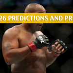 UFC 226 Predictions, Picks, Odds, and Betting Preview - Miocic vs Cormier Heavyweight Title Fight - July 7 2018