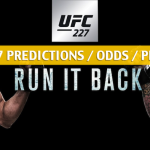 UFC 227 Predictions, Picks, Odds and Betting Preview - TJ Dillashaw vs Coby Garbrandt Bantamweight Title Fight - August 4 2018
