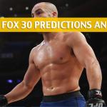 UFC on Fox 30: Eddie Alvarez vs Dustin Poirier Predictions, Picks, Odds and Betting Preview