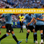 Uruguay vs France Predictions, Picks, Odds, and Betting Preview - FIFA World Cup Quarter Finals - July 6 2018
