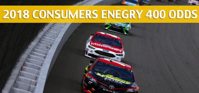 Consumers Energy 400 Predictions, Picks, Odds and Betting Preview – August 12, 2018