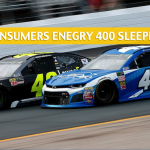 Consumers Energy 400 Sleepers and Sleeper Picks and Predictions - August 12, 2018