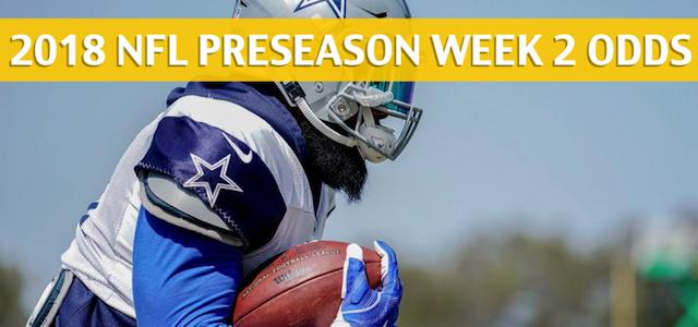 Dallas Cowboys vs San Francisco 49ers Predictions, Picks, Odds and Betting Preview – NFL Preseason Week 2 – August 9, 2018