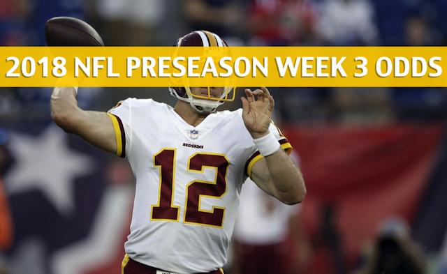 Jets vs Redskins Predictions / Picks / Odds / Preview - NFL