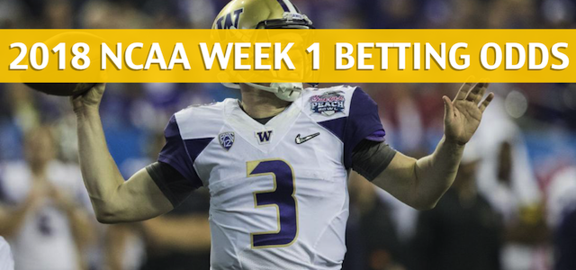 Washington Huskies vs Auburn Tigers Predictions, Picks, Odds, and Betting Preview – September 1 2018