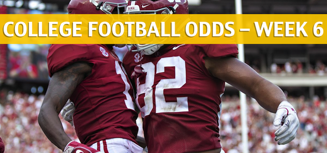 Alabama Crimson Tide vs Arkansas Razorbacks Predictions, Picks, Odds and NCAA Football Betting Preview – October 6 2018