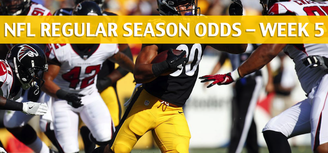 Atlanta Falcons vs Pittsburgh Steelers Predictions, Picks, Odds and Betting Preview – NFL Week 5 – October 7 2018