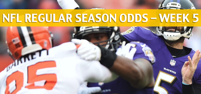 Baltimore Ravens vs Cleveland Browns Predictions, Picks, Odds and Betting Preview – NFL Week 5 – October 7 2018