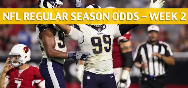 Arizona Cardinals vs Los Angeles Rams Predictions, Picks, Odds and Betting Preview – NFL Week 2 – September 16 2018
