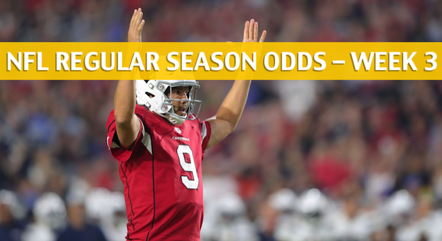 Chicago Bears vs Arizona Cardinals Predictions, Picks, Odds and Betting Preview – NFL Week 3 – September 23 2018
