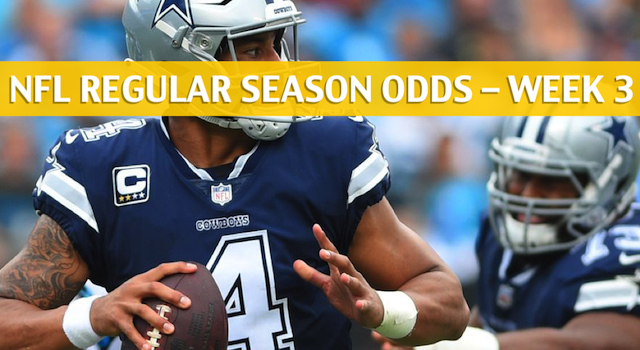 Dallas Cowboys vs Seattle Seahawks Predictions, Picks, Odds and Betting Preview – NFL Week 3 – September 23 2018