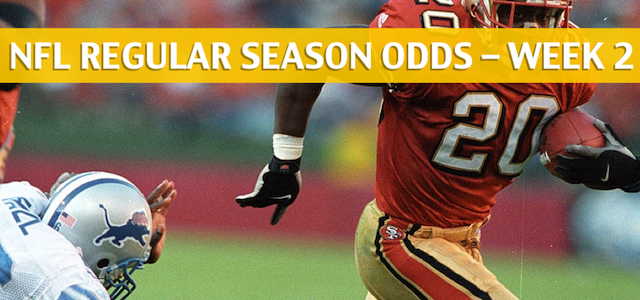 Detroit Lions vs San Francisco 49ers Predictions, Picks, Odds and Betting Preview – NFL Week 2 – September 16 2018