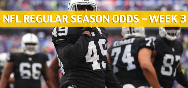 Oakland Raiders vs Miami Dolphins Predictions, Picks, Odds and Betting Preview – NFL Week 3 – September 23 2018