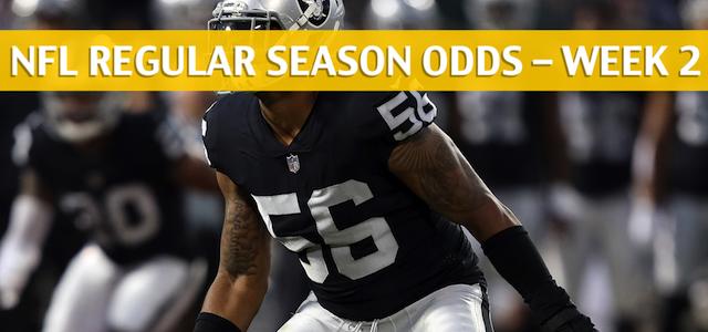 Oakland Raiders vs Denver Broncos Predictions, Picks, Odds and Betting Preview – NFL Week 2 – September 16 2018