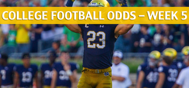 Stanford Cardinal vs Notre Dame Fighting Irish Predictions, Picks, Odds and NCAA Football Betting Preview – September 29 2018