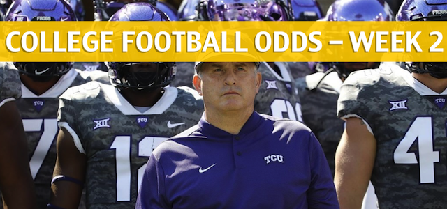 TCU Horned Frogs vs SMU Mustangs Predictions, Picks, Odds, and Betting Preview – September 7 2018