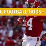 Texas A&M Aggies vs Alabama Crimson Tide Predictions, Picks, Odds and NCAA Football Betting Preview - September 22 2018