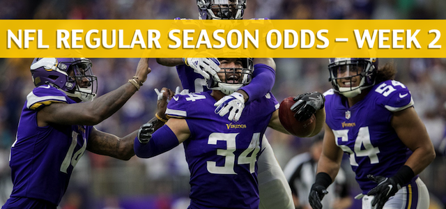 Minnesota Vikings vs Green Bay Packers Predictions, Picks, Odds and Betting Preview – NFL Week 2 – September 16 2018