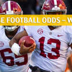 Alabama Crimson Tide vs LSU Tigers Predictions, Picks, Odds and NCAA Football Betting Preview - November 3 2018