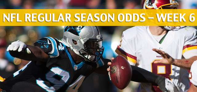 Carolina Panthers vs Washington Redskins Predictions, Picks, Odds, and Betting Preview – NFL Week 6 – October 14 2018