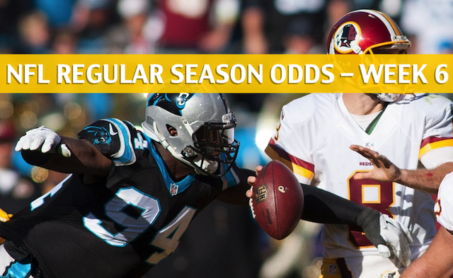 78c9c8c4e Panthers vs Redskins Predictions   Picks   Odds   Preview - Week 6 2018