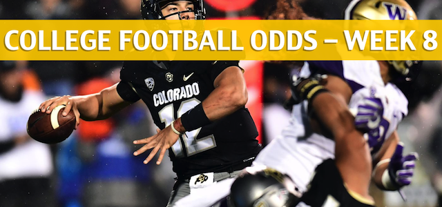 Colorado Buffaloes vs Washington Huskies Predictions, Picks, Odds and NCAA Football Betting Preview – October 20 2018