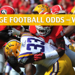Georgia Bulldogs vs LSU Tigers Predictions, Picks, Odds and NCAA Football Betting Preview - October 13 2018