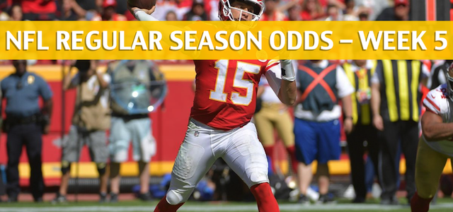 Jacksonville Jaguars vs Kansas City Chiefs Predictions, Picks, Odds and Betting Preview – NFL Week 5 – October 7 2018