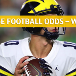 Penn State Nittany Lions vs Michigan Wolverines Predictions, Picks, Odds and NCAA Football Betting Preview - November 3 2018