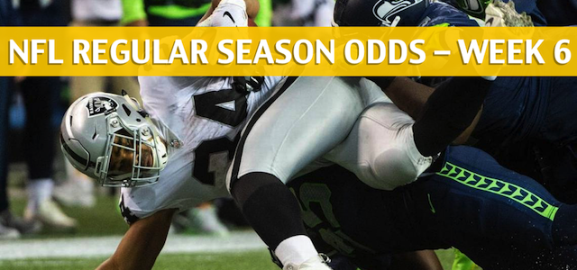 Seattle Seahawks vs Oakland Raiders Predictions, Picks, Odds, and Betting Preview – NFL Week 6 – October 14 2018