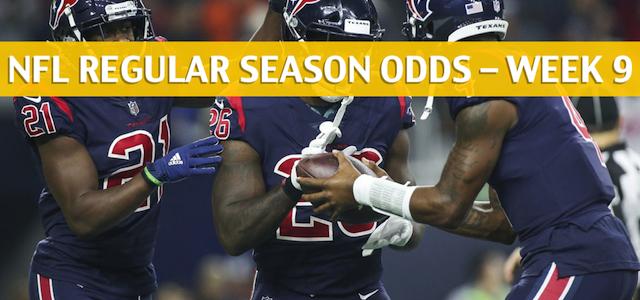 Houston Texans vs Denver Broncos Predictions, Picks, Odds, and Betting Preview – NFL Week 9 – November 4 2018