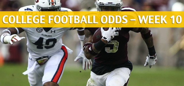 Texas A&M Aggies vs Auburn Tigers Predictions, Picks, Odds and NCAA Football Betting Preview – November 3 2018