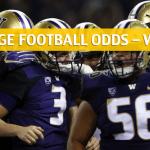 Washington Huskies vs Oregon Ducks Predictions, Picks, Odds and NCAA Football Betting Preview - October 13 2018