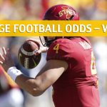 West Virginia Mountaineers vs Iowa State Cyclones Predictions, Picks, Odds and NCAA Football Betting Preview - October 13 2018