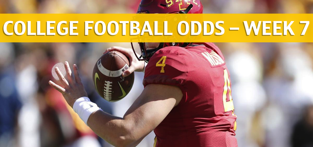 West Virginia Mountaineers vs Iowa State Cyclones Predictions, Picks, Odds and NCAA Football Betting Preview – October 13 2018
