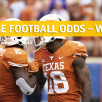 West Virginia Mountaineers vs Texas Longhorns Predictions, Picks, Odds and NCAA Football Betting Preview - November 3 2018