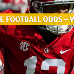 Alabama Crimson Tide vs Georgia Bulldogs Predictions, Picks, Odds and NCAA Football Betting Preview - SEC Championship - December 1 2018
