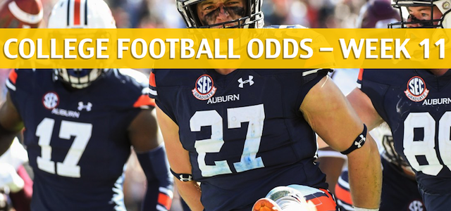 Auburn Tigers vs Georgia Bulldogs Predictions, Picks, Odds and NCAA Football Betting Preview – November 10 2018