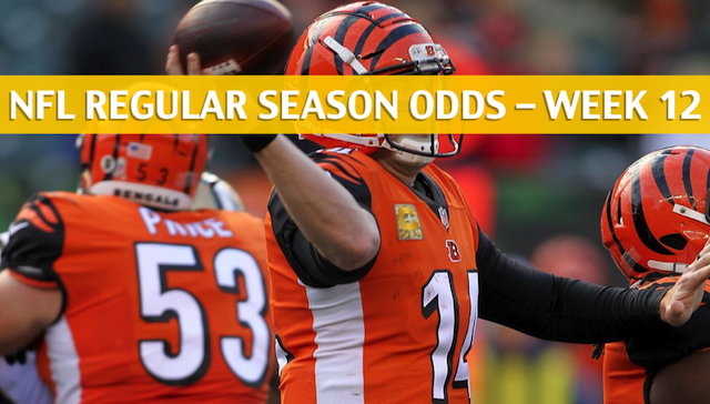 407600a7c Browns vs Bengals Predictions   Picks   Odds   Preview - Week 12 2018