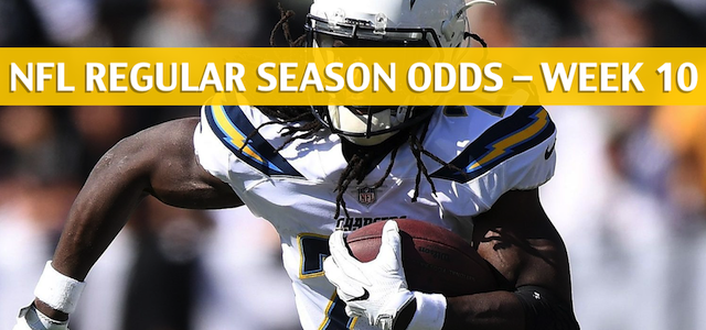 Los Angeles Chargers vs Oakland Raiders Predictions, Picks, Odds, and Betting Preview – NFL Week 10 – November 11 2018