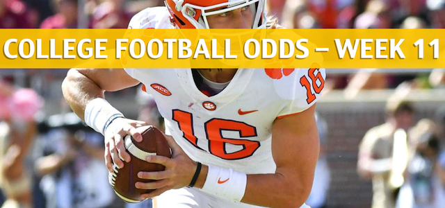 Clemson Tigers vs Boston College Eagles Predictions, Picks, Odds and NCAA Football Betting Preview – November 10 2018
