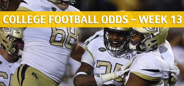 Georgia Tech Yellow Jackets vs Georgia Bulldogs Predictions, Picks, Odds and NCAA Football Betting Preview – November 24 2018