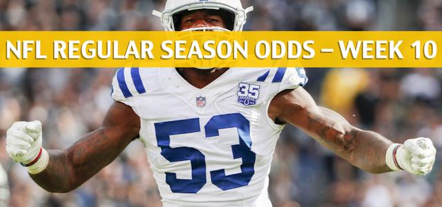 Jacksonville Jaguars vs Indianapolis Colts Predictions, Picks, Odds, and Betting Preview – NFL Week 10 – November 11 2018
