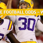 LSU Tigers vs Arkansas Razorbacks Predictions, Picks, Odds and NCAA Football Betting Preview - November 10 2018