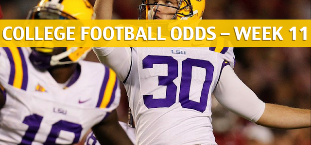 LSU Tigers vs Arkansas Razorbacks Predictions, Picks, Odds and NCAA Football Betting Preview – November 10 2018